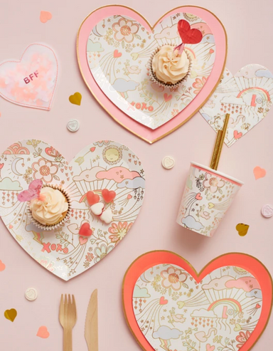Meri Meri Valentine Party Cups on Design Life Kids