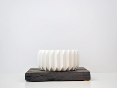 Bloomingville Modern Fluted Flower Pot at Design Life Kids
