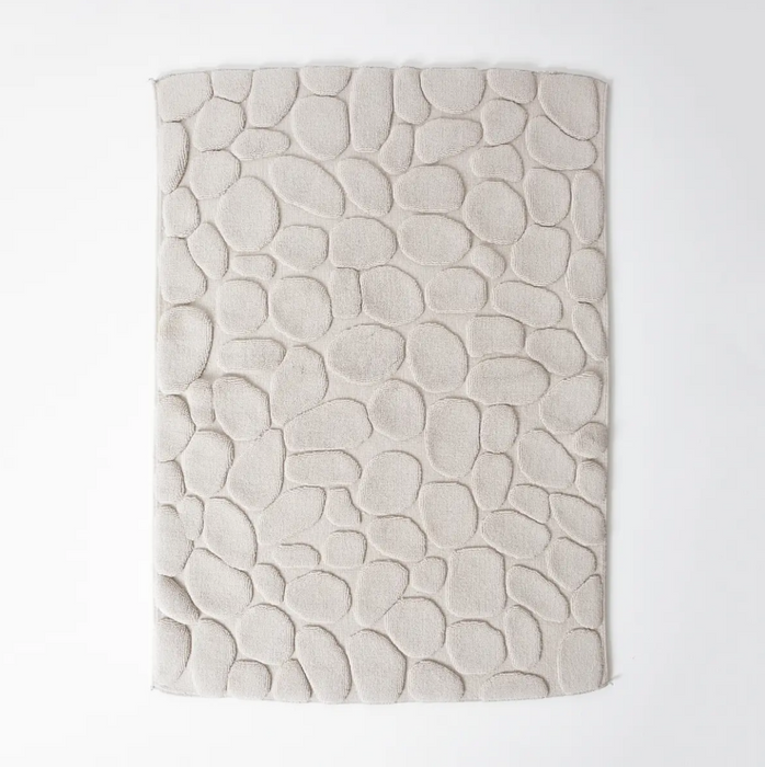 Morihata Japanese Cotton Pebble Bath Mat on Design Life Kids