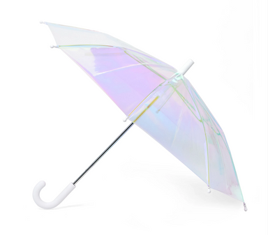 Hipster Kid FCTRY Holographic Umbrella on Design Life Kids