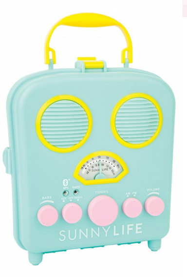 Sunnylife Beach Sounds Portable Speaker at Design Life Kids