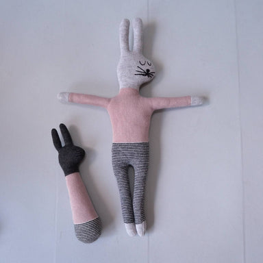 Pink Rabbit Rattle