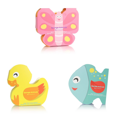 Spongelle Sponge Animals on Design Life Kids