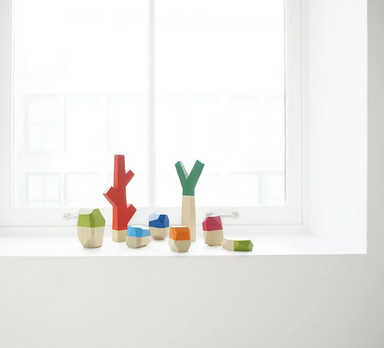 Sticks and Stones Building Blocks on Design Life Kids
