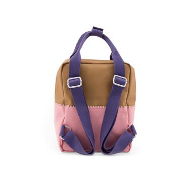 Sticky Lemon Color Block Backpack on Design Life Kids