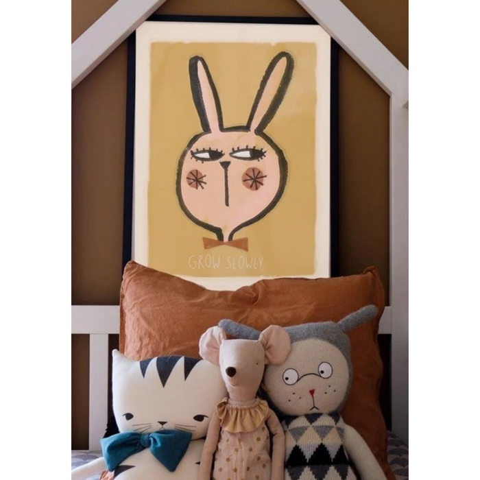 Studio Loco Rabbit Print on Design Life Kids