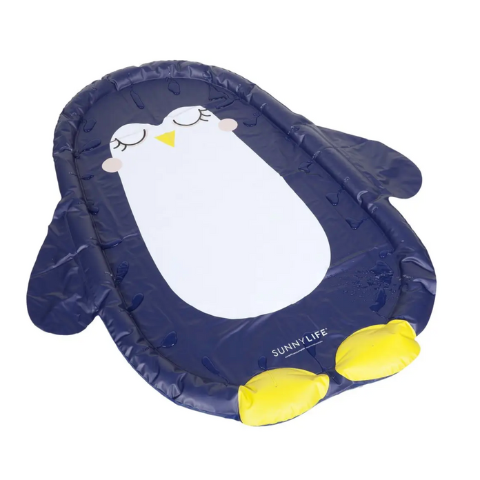 Inflatable Penguin Water Mat