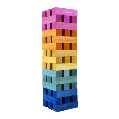 Sunnylife Mega Jumbling Jenga Tower on Design Life Kids