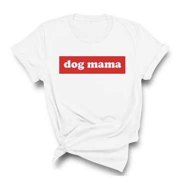 Woof and Wonder Co Supreme Style Dog Mama Shirt on Design Life Kids