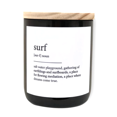 The Commonfolk Collective Surf Candle on Design Life Kids