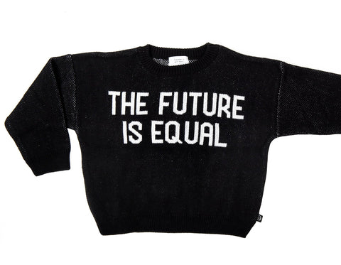 Tressy Club the Future is Equal Knit on DLK | designlifekids.com