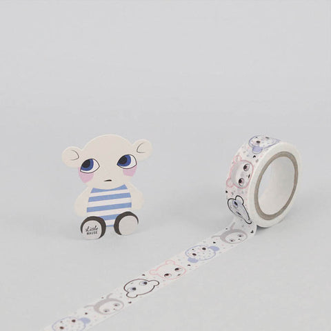 Noodoll and Lucky Boy Sunday Washi Tape on DLK | designlifekids.com
