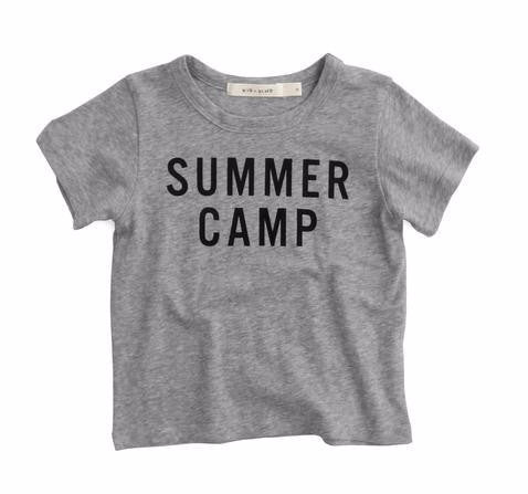 Kid and Kind Summer Camp Tee on DLK