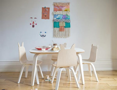 Birch Bear + Rabbit Play Chair Set