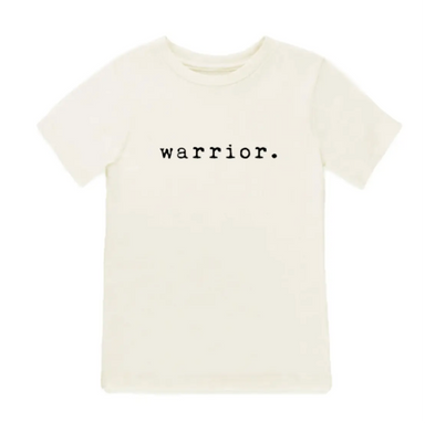 Tenth and Pine Organic Warrior Tee Shirt on Design Life Kids