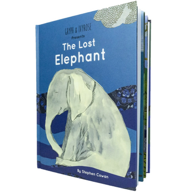 The Lost Elephant Book on Design Life Kids