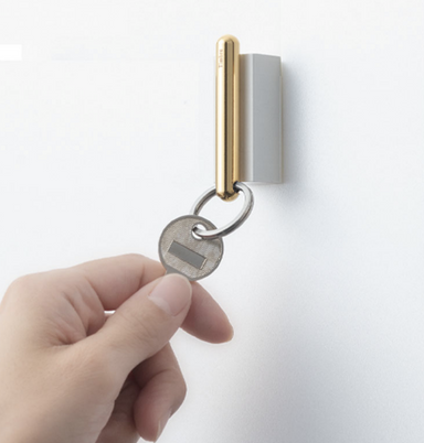 Timbre Gold Key Chain on Design Life Kids