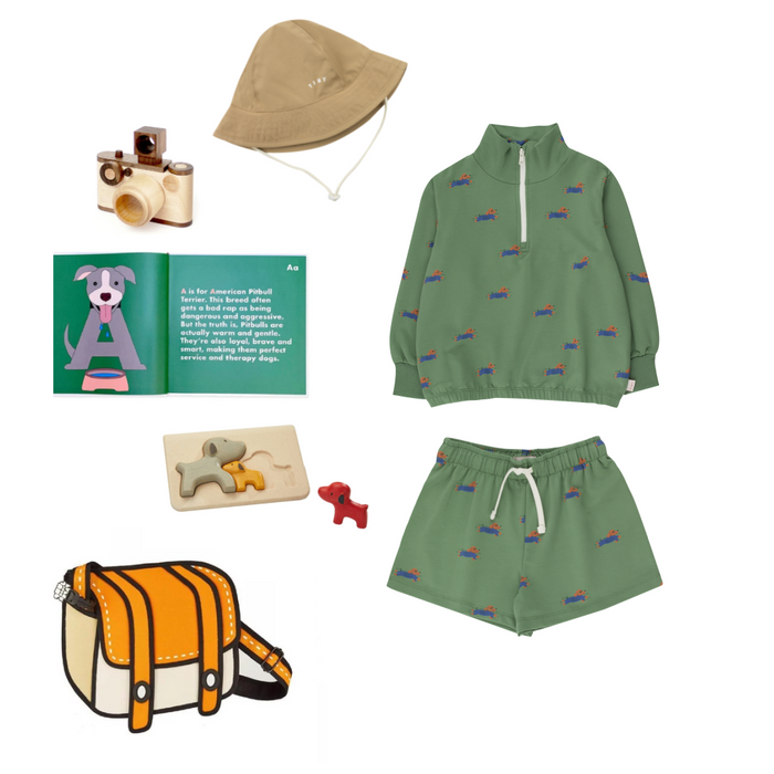 Tiny Cottons Doggy Paddle Sweatshirt on Design Life Kids