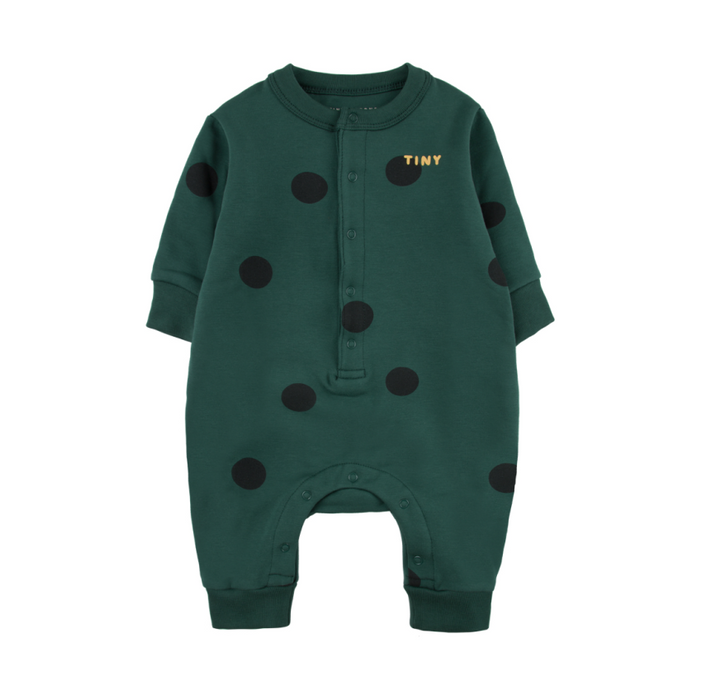 Tiny Cottons Big Dots One Piece on Design Life Kids