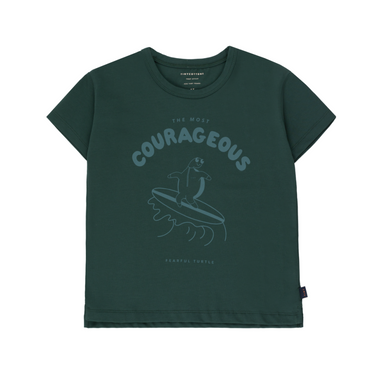 Tiny Cottons Courageous Tee on Design Life Kids