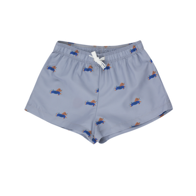 Tiny Cottons  Doggy Paddle Swim Trunks on Design Life Kids