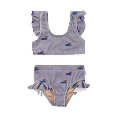 Tiny Cottons Doggy Paddle Swim Set on Design Life Kids