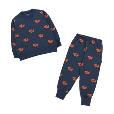 Tiny Cottons Foxes Sweatpant on Design Life Kids