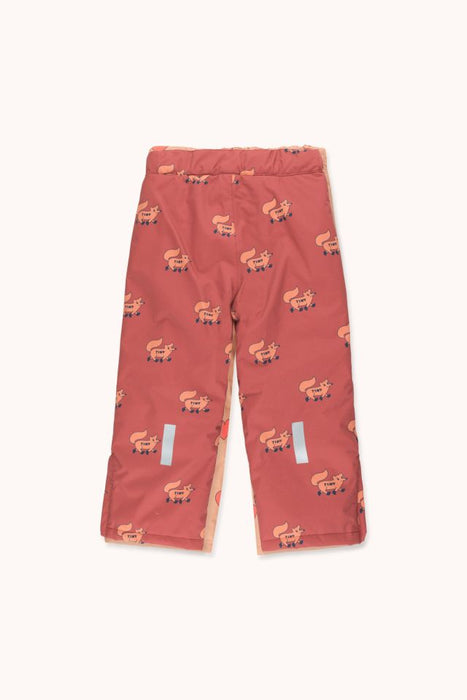 Tiny Cottons Foxes Snow Pants on Design Life Kids