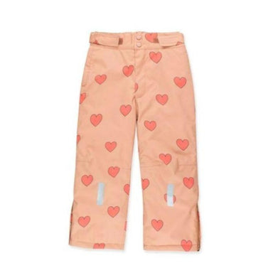 Tiny Cottons Hearts Snow Pants on Design Life Kids