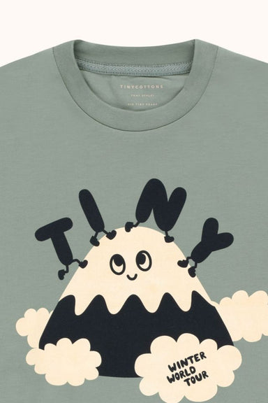 Tiny Cottons Tiny Fuji Tee on Design Life Kids