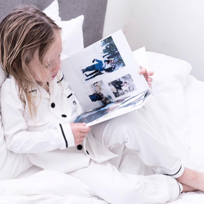 The Tiny Universe Pajamas on DLK | designlifekids.com