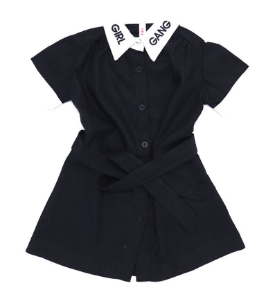Tressy Club Girl Gang Short Sleeve Dress on Design Life Kids