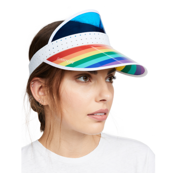Sunnylife Rainbow Retro Visor at Design Life Kids