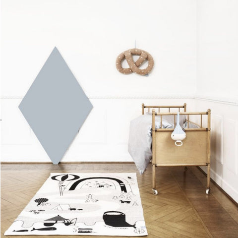 OYOY Mr. Megladon Adventure Rug on DLK | designlifekids.com
