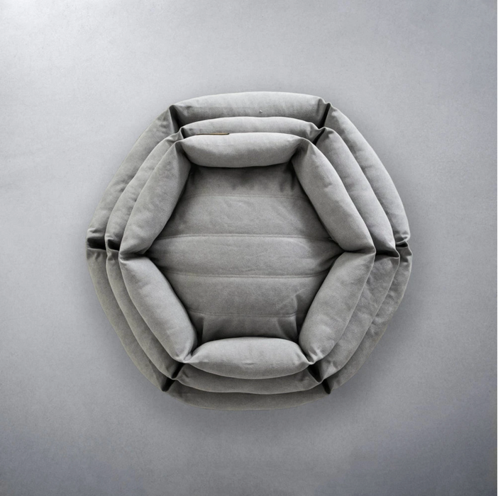 Velvet Hippo Modern Hex Dog Bed on Design Life Kids