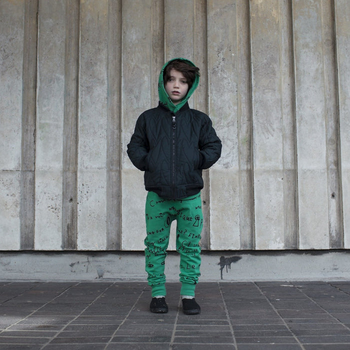 Beau Loves Padded Lovehearts Bomber on DLK | designlifekids.com