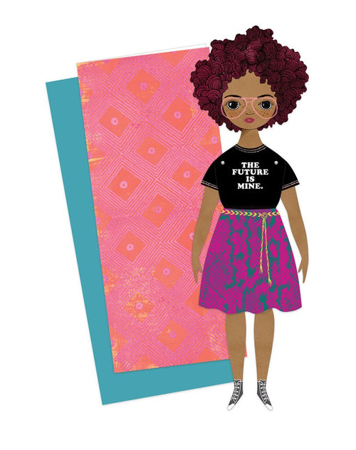 Of Unusual Kind Paper Doll on DLK | designlifekids.com