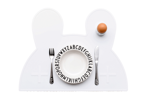We Might Be Tiny Bunny Placemat on DLK | designlifekids.com
