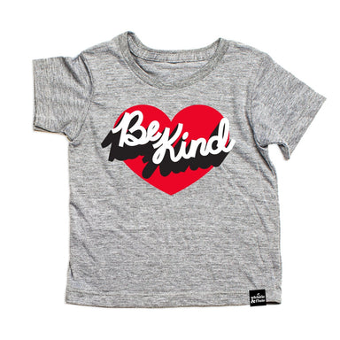 Whistle & Flute Be Kind Heart Tee at Design Life Kids