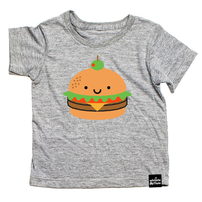Whistle & Flute Veggie Burger Shirt at Design Life Kids