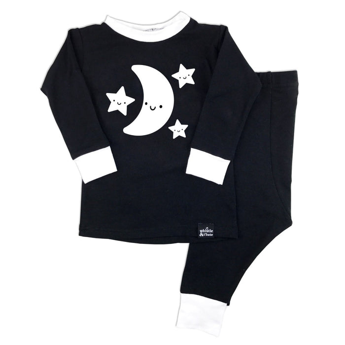 Kawaii Moon & Stars Pajama Set