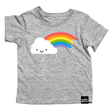 Whistle & Flute Kawaii Rainbow Tee at Design Life Kids