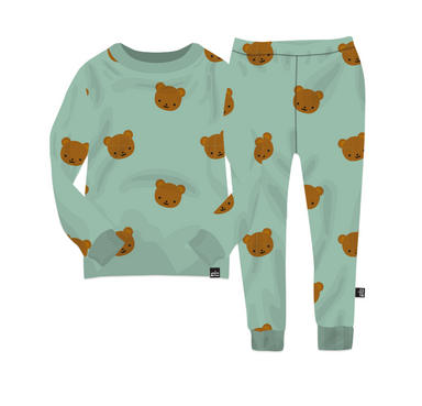 Kawaii Bear Pajama Set