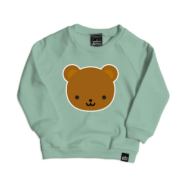 Whistle and Flute Teddy Bear Sweatshirt on Design Life Kids