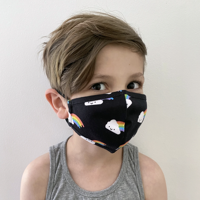 Whistle and Flute Rainbow Mask on Design Life Kids