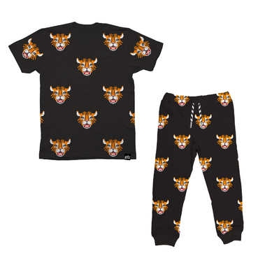 Whistle and Flute Tiger Pants on Design Life KidsWhistle and Flute Tiger Shirt on Design Life Kids