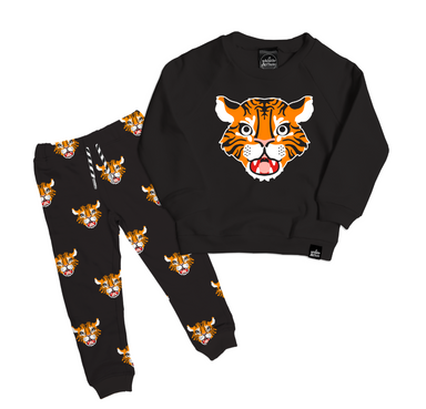 Whistle and Flute Tiger Sweatshirt on Design Life Kids