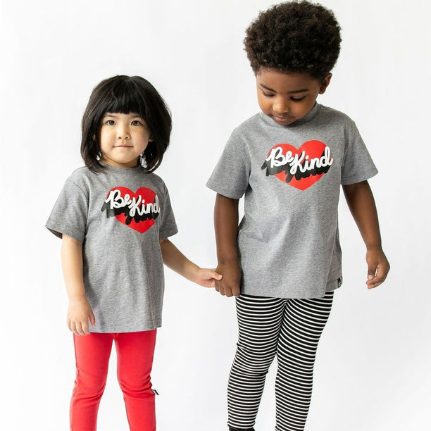 Whistle & Flute Be Kind Heart Tee on DLK | designlifekids.com