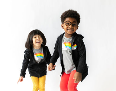 Whistle & Flute Kawaii Rainbow Tee on DLK | designlifekids.com