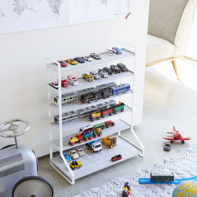 Yamazaki Car and Train Storage Garage on  Design Life Kids